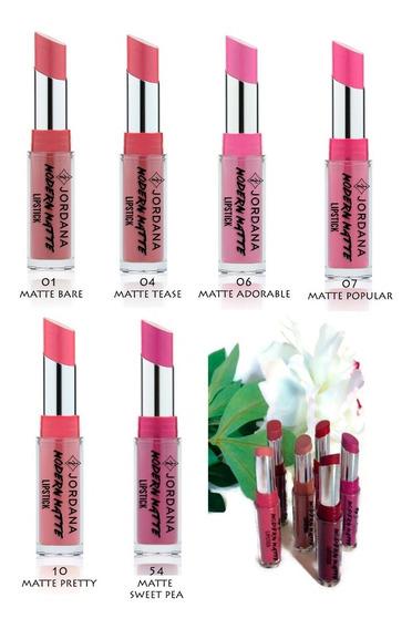 Jordana Labiales Modern Matte Lipstick Larga Duración