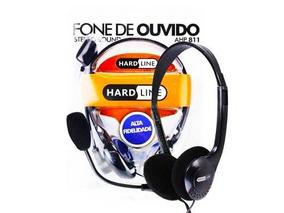 Fone De Ouvido Com Microfone Para Pc E Celular
