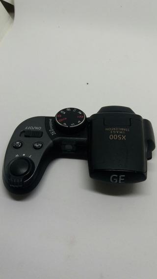 Botão De Disparo E Tampa Superior Câmera Ge X500