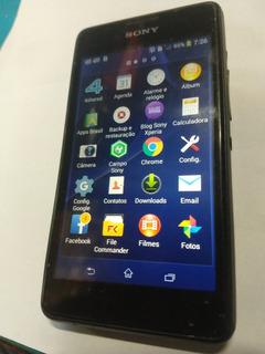 Celular Sony Mod D2114 Funcionando Perfeitamente..