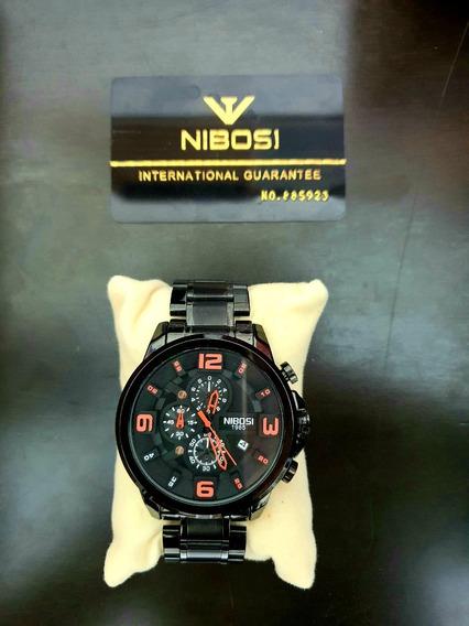 Relógio Nibosi Gde. Preto