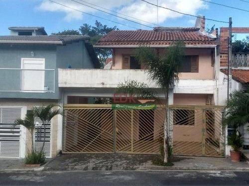 Sobrado Com 4 Dormitórios À Venda, 220 M² Por R$ 580.000 - Jardim Nathalie - Mogi Das Cruzes/sp - So2388
