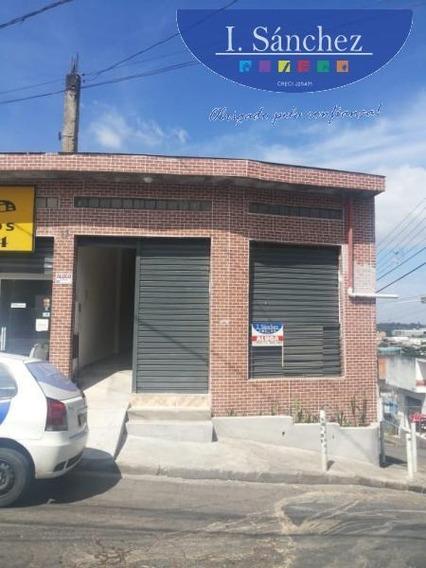 Salão Comercial Para Locação Em Itaquaquecetuba, Vila Itaquá Mirim, 2 Banheiros - 190320