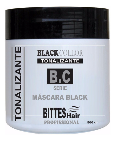 Mascara Black Collor Profissional Promoção 500g Bittes Hair