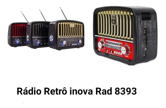 Rádio Retrô Inova Rad 8393