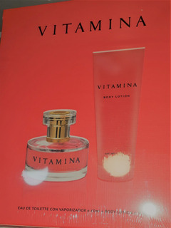 Vitamina Estuche Edt X 60ml + Body Lotion