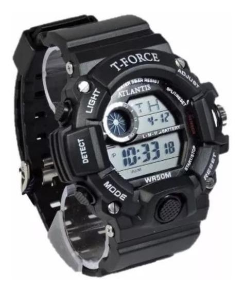 Relógio Masculino Militar T Force Prova Dágua Barato
