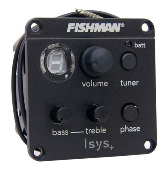 Fishman Isys + Equalizador Captador De Guitarra Acústica