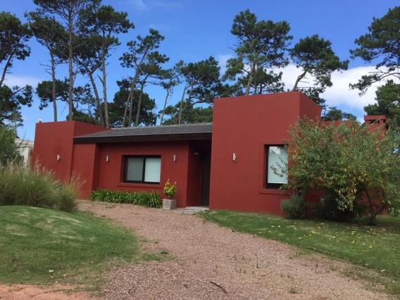 Alquiler Anual Casa En Barrio Privado Punta Del Este