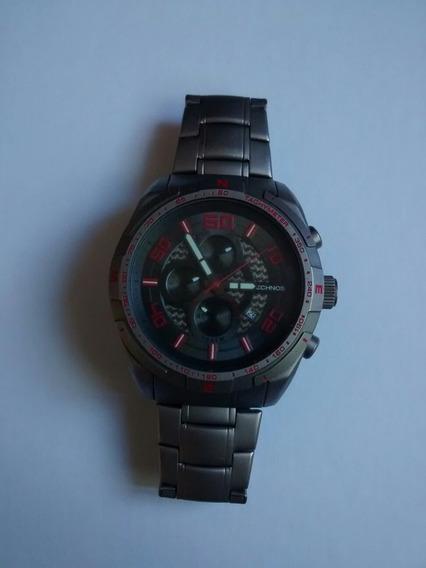 Relógio Technos Modelo Os1aad Titanium A Prova D