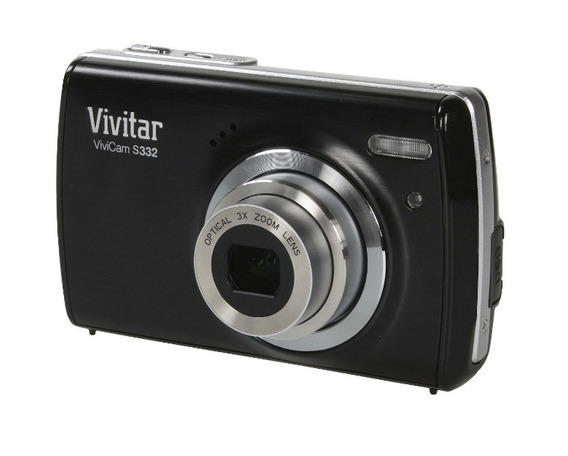 Camera Digital Vivitar S332 16mp Preta (#2v2)