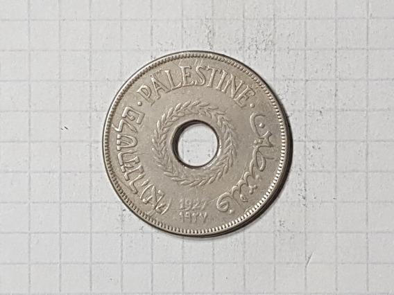 Israel Palestina 20 Mils 1927 Muy Escasa