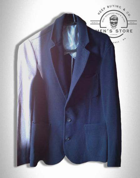 Blazer Jaqueta Azul Marinho Zara Europa