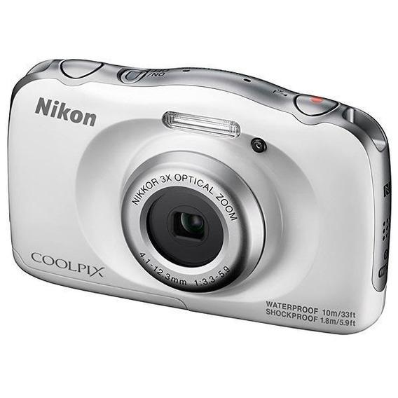 Camera Nikon Coolpix W100 Prata Pronta Entrega