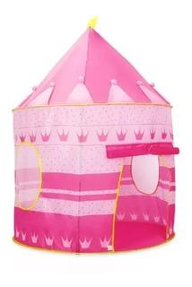 Carpa Castillo Para Niños Y Niñas - Rosa Regalo Juguete