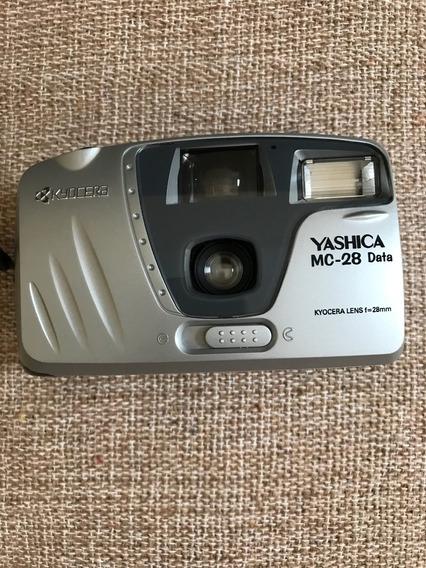 Câmera Fotográfica Yashica Mc 28 - Em Excelente Estado