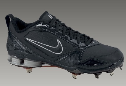 meet b55ab 7c3d7 nike shox fuse 2 mens baseball cleat beisbol spikes no. 7