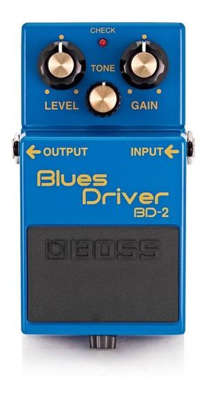 Pedal Boss Bd-2 Blues Driver Para Guitarra **