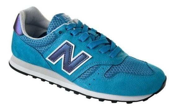 Tênis New Balance Wl373 Gi Feminino - Azul Celeste