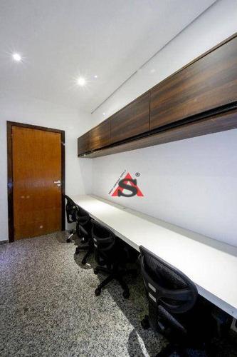 Sala Para Alugar, 10 M² Por R$ 1.850,00/mês - Brooklin - São Paulo/sp - Sa1323