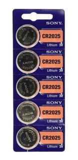 Pilas Sony Cr2025 Blister X 5 Origen Japon Oficial Caba