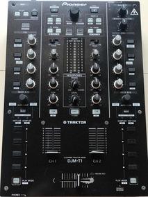 Mixer Pioneer Djm T1 + Case Odyssey + 3 Vinis