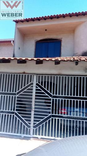Casa 3 Dorm, 1 Suíte, 280 M² Á Venda Por 256.000,00 Portal Do Itavuvu - 995
