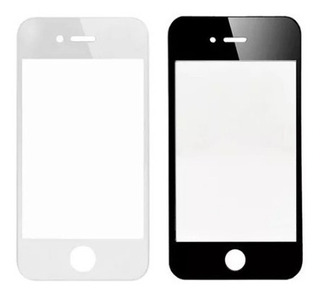 Mica iPhone 4 / 4s Original Apple - Blanca Y Negra