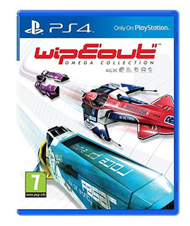 Ps4 Wipeout: Omega Collection (uk Import