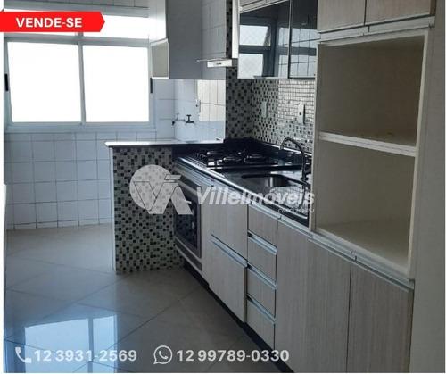 Imagem 1 de 7 de Apartamento Com 2 Dormitórios À Venda, 62 M² Por R$ 290.000,00 - Jardim Paraíso - São José Dos Campos/sp - Ap0026