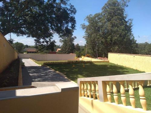 Chácara Com 3 Dormitórios À Venda, 1308 M² Por R$ 585.000,00 - Condomínio Santa Inês - Itu/sp - Ch0140