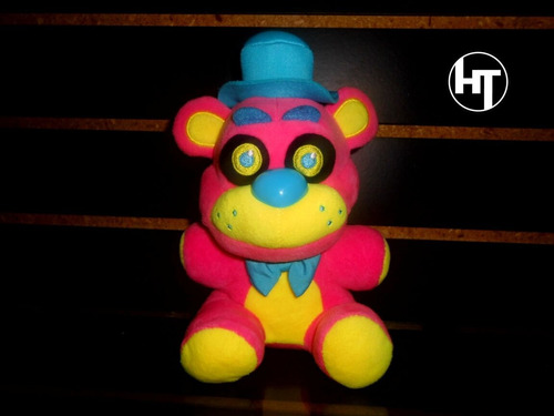 Five Nights At Freddy, Black Lights Freddy, Oso, Peluche