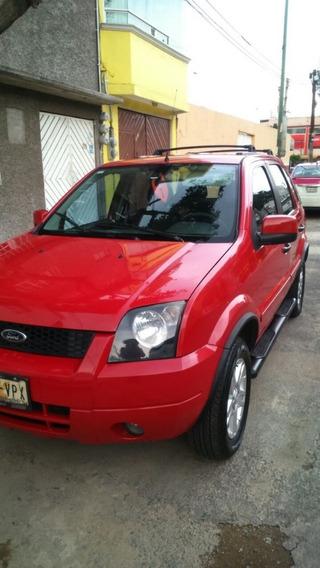 Camioneta Ecosport 2007 Roja