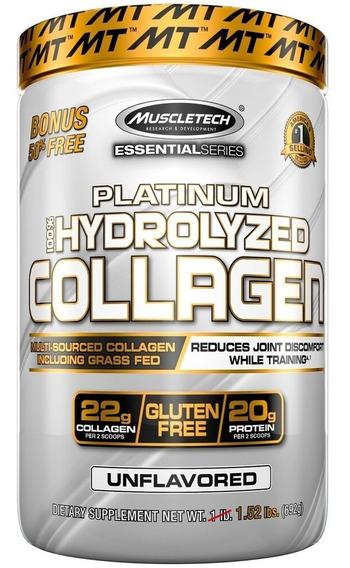 Colageno 100 % Hydrolizado 1,52 Lb Muscletech Platinium
