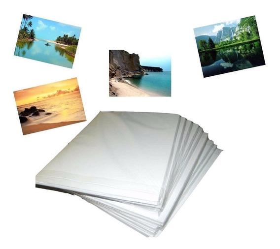 2000 Fls Papel Foto Glossy 120g/115g A4 Brilho Prova D