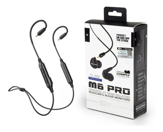 Fone In-ear Mee Audio M6 Pro Retorno Preto + Nf Original