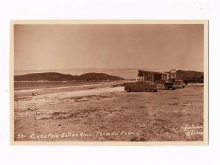 Cartao Postal Fotografico Cabo Frio Praia Do Pero Rj Anos 50