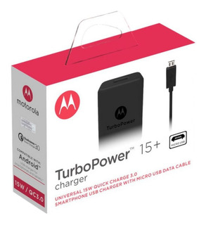 Carregador Para Motorola Moto E5 Plus + Cabo Turbo