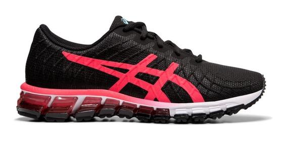 Asics Zapatillas Running Mujer Gel Quantum 180 4 Negro- Rosa