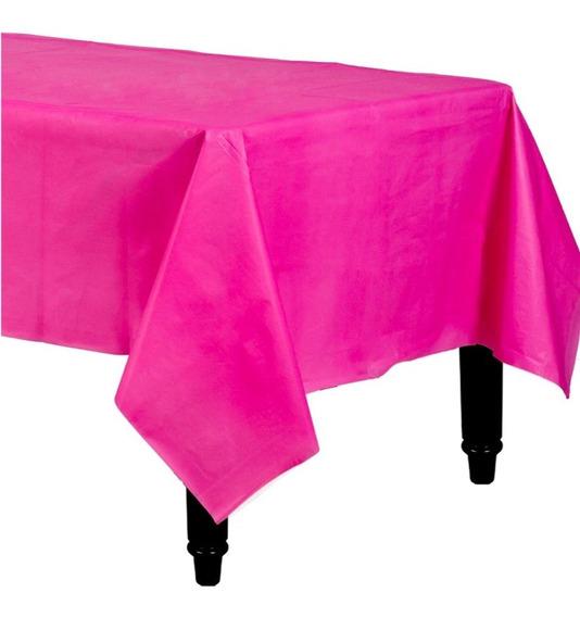 Mantel Rectangular De Plástico Fiesta De Colores Amscan