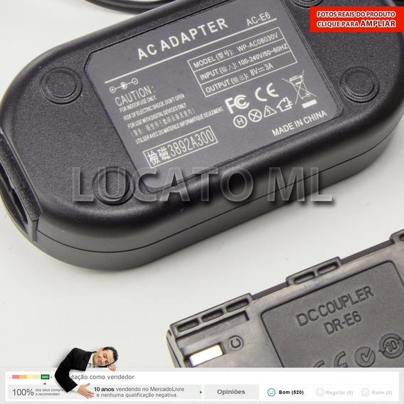 Eliminador Bateria P/ Canon 6d 5dmk2 12x S/j + Frete Grátis