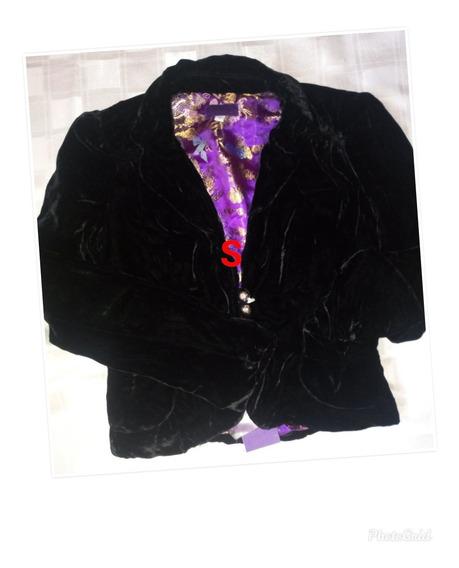 Chaquetas Blusa De Dama Gamuzada Super Elegante Importada