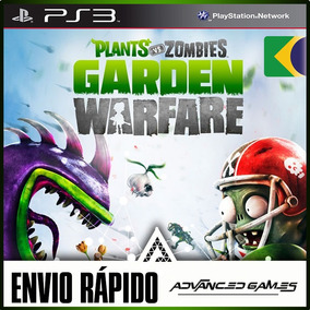 Plants Vs Zombies Portugues - Jogos Ps3 Midia Digital