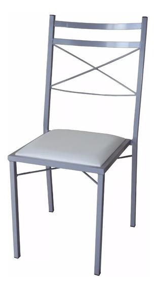 Cadeiras De Metal Com Estofado P/ Buffet
