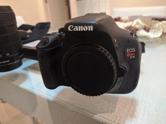 Camera Fotográfica Canon T3i Rebel Eos