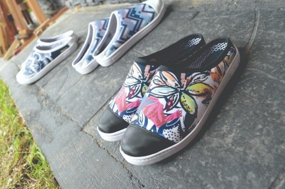 Zapatillas Sin Talón Verano Mujer Diseño Original