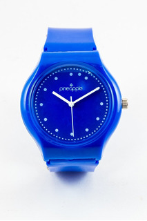 Reloj De Silicona Pineapple Honey Azul (azul)