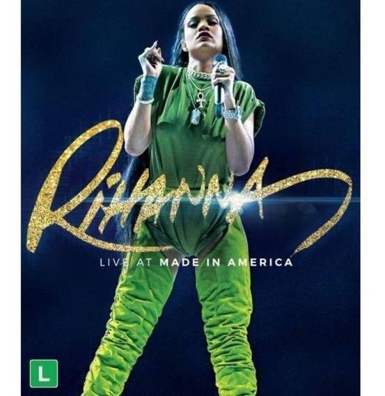 Rihanna - Live At Made In America - Dvd Lacrado Fabrica