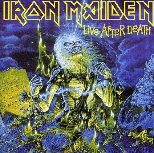 Cd Iron Maiden Live After Death-new Version