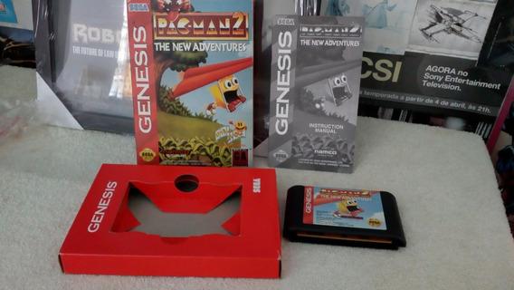 Pac-man 2: The New Adventures - Genesis Cx Papelão Original